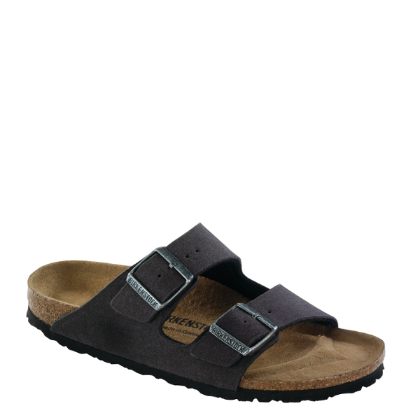 84107ef9a7ce BIRKENSTOCK - ARIZONA VEGAN - ANTHRACITE - Plaza Shoe Store